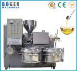 Máquina fría de la prensa de petróleo del tornillo de la palma del girasol del aguacate del cañamón del cacahuete negro verde oliva comercial del coco