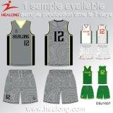 Баскетбол Джерси коллежа возгона краски Sportswear Healong