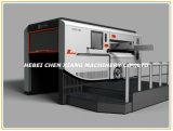 CX-1200 automatische Vlakke het Vouwen en van de Matrijs Scherpe Machine