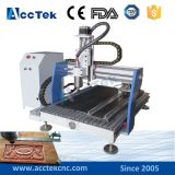 Europäischer Quality Economic Desktop Mini CNC Router Akg6090 für Wood, MDF, Acrylic, Stone, Aluminum/Wood Carving CNC Router