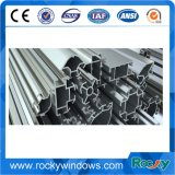 Felsige Elektrophorese-Aluminiumstrangpresßling-Profile für schiebendes Windows