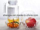 食品等級の無鉛のダイヤモンドのクリスタルグラスボールのガラス製品Sx-001