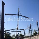 Stahlrahmen-Kesselhaus-Aufbau in Chile