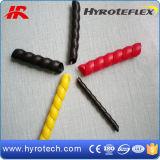 Protetor plástico amarelo/vermelho/preto da mangueira da fábrica de borracha da mangueira de China