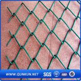 Cadena de PVC recubierto de tela metálica de fábrica