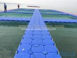 Jaula plástica de la granja de pesca del cubo el pontón de flotación