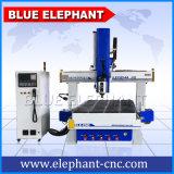 زرقاء فيل 4 محور [كنك] 1325 مسحاج تخديد ذاتيّ أداة مبدّل [ووود نغرفينغ] وينحت آلة لأنّ عمليّة بيع مع [1300إكس2500مّ] [ووركينغ را]
