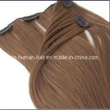 Extensão brasileira do cabelo humano de Remy do grampo do Virgin