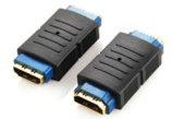Luxuary ha progettato il cavo brillante dorato della spina HDMI
