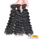 O cabelo brasileiro natural por atacado empacota o cabelo humano