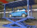 A garagem do porão invisível Scissor o elevador do carro