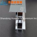 Perfil de aluminio revestido de la protuberancia del polvo del sistema del aislante de calor