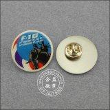 オフセット印刷のバッジ、組織の折りえりPin (GZHY-LP-028)
