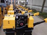 800kg Gehen-Hinter Doppelt-Trommel Vibrationsrolle mit Kipor Motor