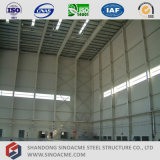 Hangar d'avions de structure métallique de grande envergure