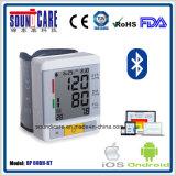 Moniteur de pression sanguine des bandes de poignet 2users (BP60BH-BT)