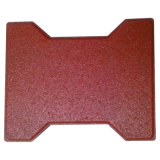 Small Dog Bone Type Stable Recycled Rubber Tile