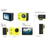 камера действия 4k экран LCD 2.0 дюймов кулачок действия 170 градусов