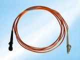 Hotselling Sc/Upc aan FC/APC MultiWijze 50/125 het DuplexKoord van het Flard van de Optische Vezel