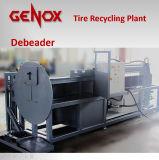 Neumático Pre-Que destroza y planta de reciclaje/sistema
