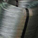 De gegalvaniseerde Verpakking van de Draad van het Staal in Rol of Houten Trommel