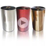 Starkes Adhäsions-bedruckbares Goldsilber-Polyester metallisierter Film für das Lamellieren und das Verpacken