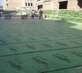屋根ふきのためのHDPEの自己接着防水材料