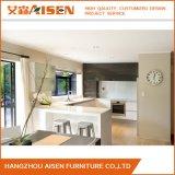 Cabina de cocina blanca de la cocina del diseño Handless moderno de los muebles