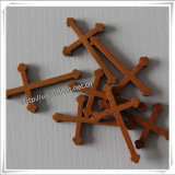 Antieke Natuurlijke Goedkope Gebeëindigde Houten Kruisen voor Ambachten (iO-Cw011)