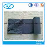 黒く頑丈なプラスチック生物分解性のごみ袋