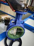 Duktiler Sitzoblate-Typ Drosselventil des Eisen-PTFE mit Griff