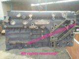 Корпусы двигателя отливок песка сырцовые, котор подвергли механической обработке для тележки