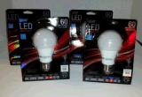Ampola E27/B22 AC85-265V da lâmpada da iluminação de bulbos do diodo emissor de luz