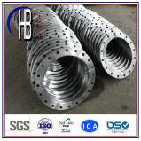 Bride de soudure de plot d'acier inoxydable de la pression 304/316