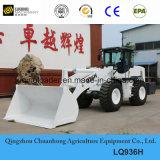 De Lader van het Wiel van de Apparatuur van de Bouw van Luqing met Lang Wapen