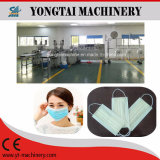 Coperchio non tessuto a gettare automatico della maschera di protezione che fa la linea di produzione della macchina