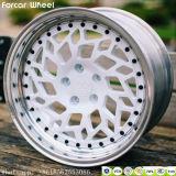 바퀴 Wci 알루미늄 바퀴는 Wci 복사 합금 바퀴에 테를 단다