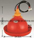 Matériel en plastique de circuit de refroidissement de câble d'alimentation de buveur de poulet de volaille