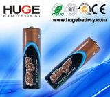 알카라인 배터리 2014 고품질 높은 드레인 AA 크기