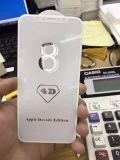 iPhone 8 스크린 프로텍터를 위한 곡선 4D 강화 유리