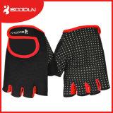 Osmane-materielle Silikon-Drucken-Palmen-Gleitschutzgewicht-Anhebenhandschuh Fingerness Handschuhe
