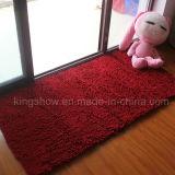 Estera de baño copetuda de la alfombra de la Largo-Pila del Chenille del poliester de Microfiber (40*60)
