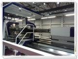 Большой сверхмощный Lathe CNC горизонтальный для поворачивая турбины колеса, вала, цилиндра (CG61300)