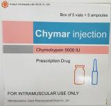De westelijke Chymotrypsin van de Geneeskunde Drug van het Voorschrift van de Injectie 5000iu