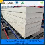 ISO, SGS одобрил 120mm гальванизированную стальную панель сандвича PIR (Быстр-Приспособьте) для замораживателя холодной комнаты холодной комнаты