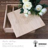 Foto de madeira feita sob encomenda de Hongdao e caixa do USB para Wedding Wholesale_L