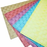 Geschäumtes Matt-Polyester gesponnenes Tablemat für Tischplatte u. Bodenbelag