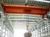Grúa de puente de arriba de la viga que viaja doble resistente (QD)
