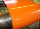 Pre-Painted цвет покрыл катушку PPGI Galvanzied стальную (0.14--1.3mm)