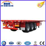 20FT 40FT 평상형 트레일러 콘테이너 트럭 화물 트레일러